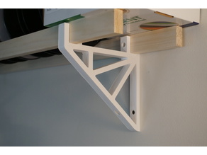 1x2 Shelf Bracket
