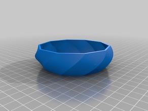 1/e Polygon Bowl