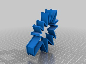 Isabelle Abstract Tree Cookie Cutter