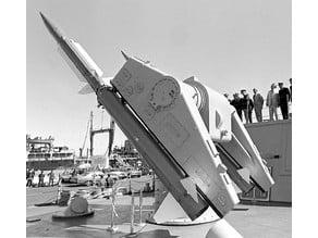 Terrier RIM-2 Missiles  launcher mk10