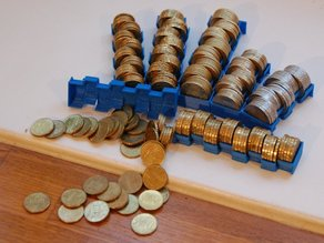 Counting Coin Trays