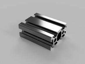 Metal-Profile 20x40 Nut 6 B-Typ