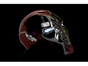 Iron Man Mark 50 Battle Damaged Helmet Endgame