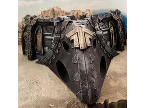 Gothic spaceship wreck C nose