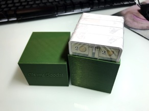 Parametric Deck Box with optional text