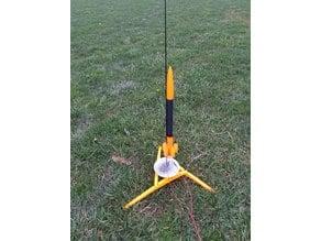Custom Model Rocket (2) Body Tube & (3) Fin Can types