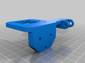 Reinforced Z Motor holder for BQ Hephestos Prusa i3