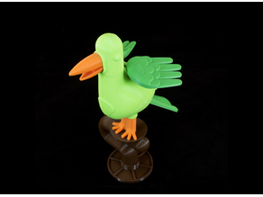 Flapping Mechanical Bird Toy