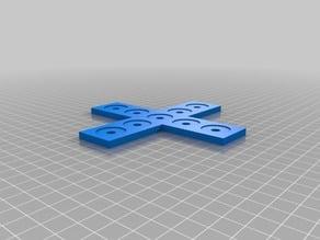 Plate Bracket for Aluminium Extrusion Profiles 3030