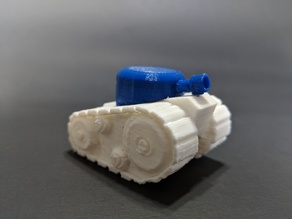 3DTankor Two Color Tank / Dual Extrusion Print!