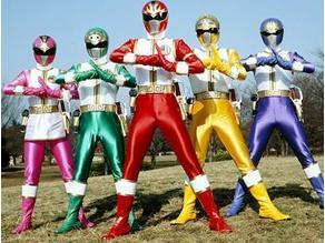 Gosei Sentai Dairanger :- Ryuu - Shishi - Tenma Helmets