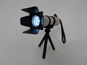 Show Flashlight with Tripod