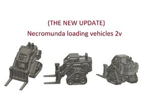 Necromunda loading vehicles 2v