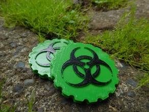 Bio Hazard Maker Coin