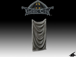 Castle Banner - JOIN OUR Monster Miniature PATREON