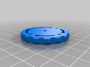 Bed leveling knob