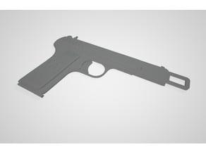 Car Seat Belt Lock Buckle - TT-33 Soviet pistol