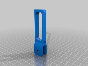 X axis End PRUSA i3 Idler tensor with dock - Tensor correra eje X con muelle con