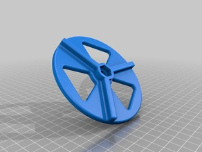 Daisy Wheel for 4 inch Air Duct