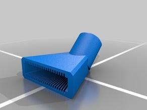 High Flow Shower Head Fan Pattern 45 degree 1/2 pipe threads .500