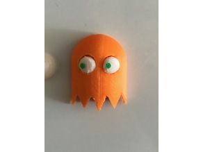 Pac-Man Ghost Eyes