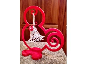 Mouse-Eared Ornament Display