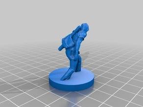 D&D/Pathfinder Rogue Figurine