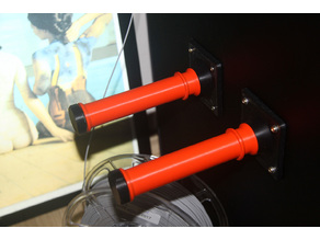 Lateral Filament Spool Holder