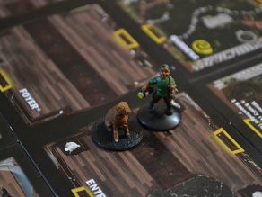 Betrayal at House on the Hill Dog Figure