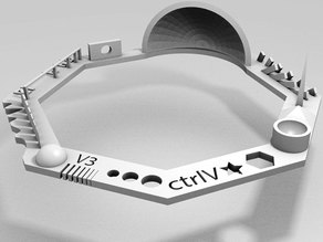Test your 3D printer! v3