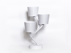 Biohazard - Flower pot with water tray