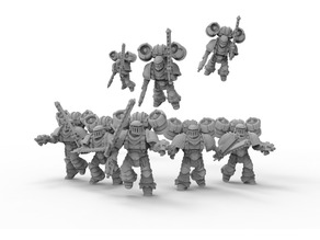 Assault marine squad