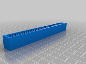 33 Micro SD Card Holder Bar 150mmx16mm1