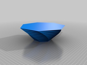My Customized Twisted Polygon Vase 1