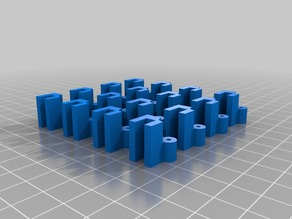 """Flat Pack City"" Prototype Walls"