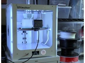 Ultimaker 3 GoPro Print Bed Mount