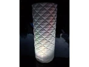 Spiral Geometric LED Tower Lamp (Vase Mode)