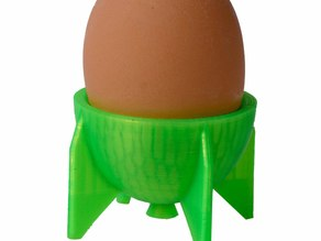 Egg Cup Rocket