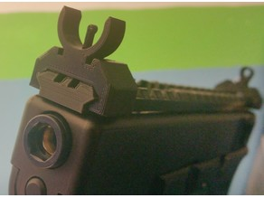 Picatinny fixed sights