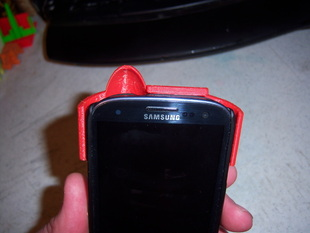 Speaker Deflector for a Samsung Galaxy S3 with Hard Case