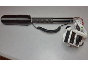 Simple Handheld ActionCam/ Camera Gimbal Grip 2D or 3D Hand Held