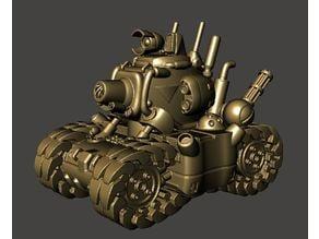 Metal Slug SV001 Tank - Remix