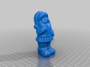 Santa figurine - 3D Scan