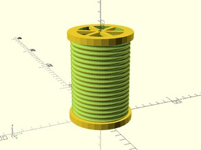 Customizable Threaded Spool Generator