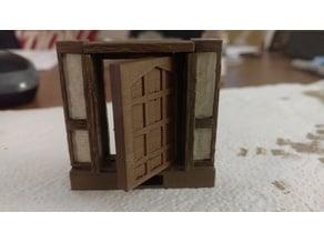 OpenLock Tudor Door