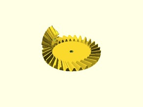 Parametrisches Kegelrad-Paar / Parametric Pair of Bevel Gears