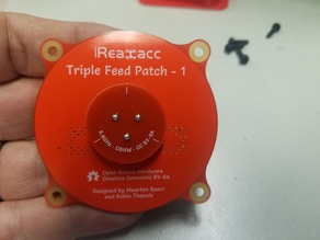 5.8 GHz Triple Feed Patch Antenna Cover