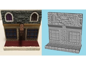 Miniature Store Facade