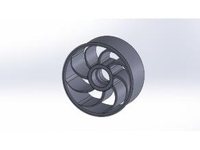 Thurbolt custom tire & rim 1