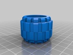 Lego Wheel modified (easy print)